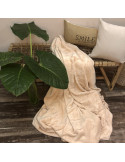 Frazada Brescia Flannel Melange Natural Cuna